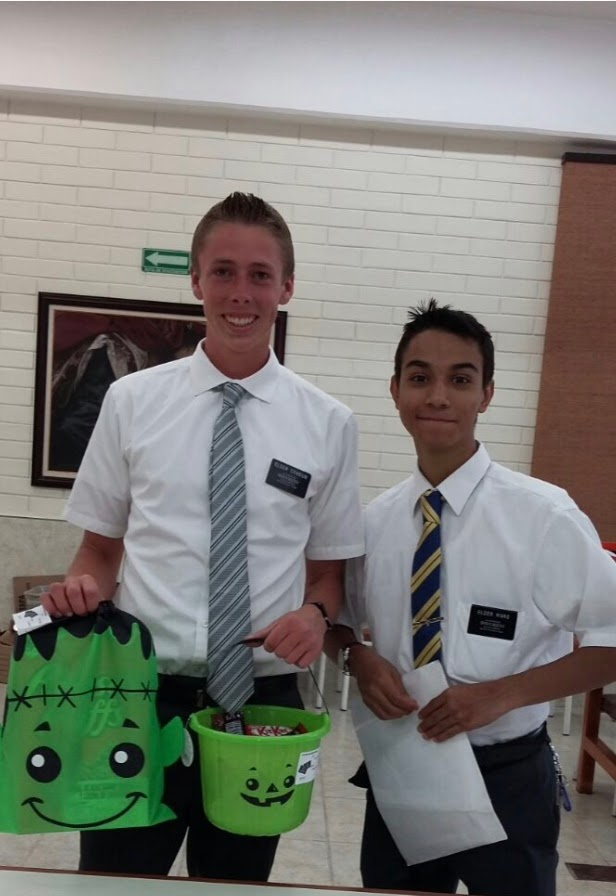 Elder Craigun and Rivas